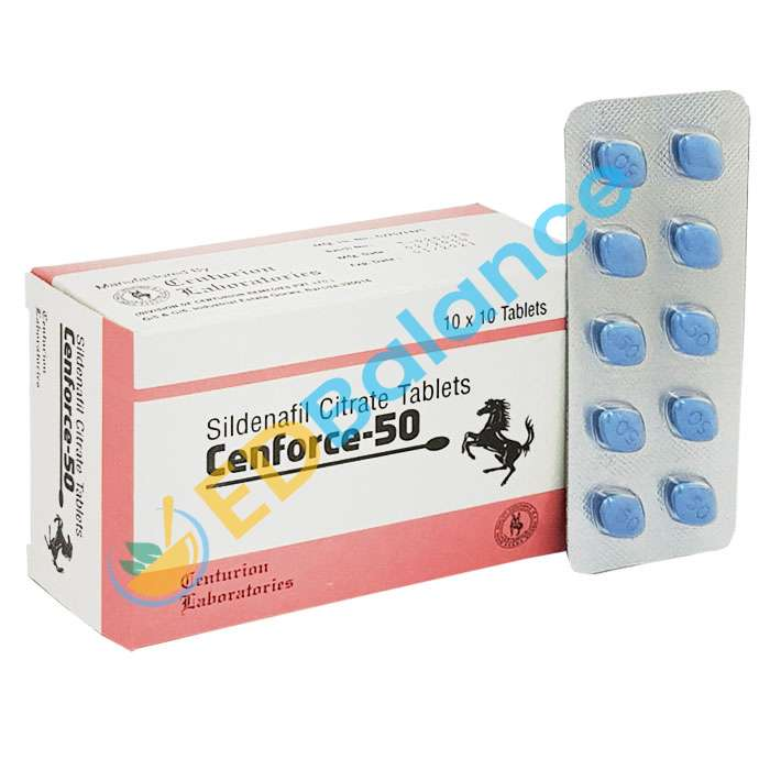 Buy Sildenafil Cenforce 50 Online for Cheap Cost