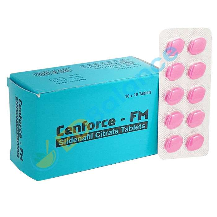 Cenforce FM 100mg | Pink Sildenafil Pills Online for sale