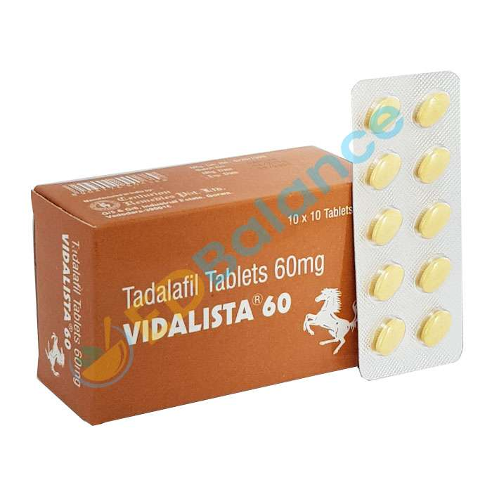 Vidalista 60 | Tadalafil 60mg Reviews & Side Effects