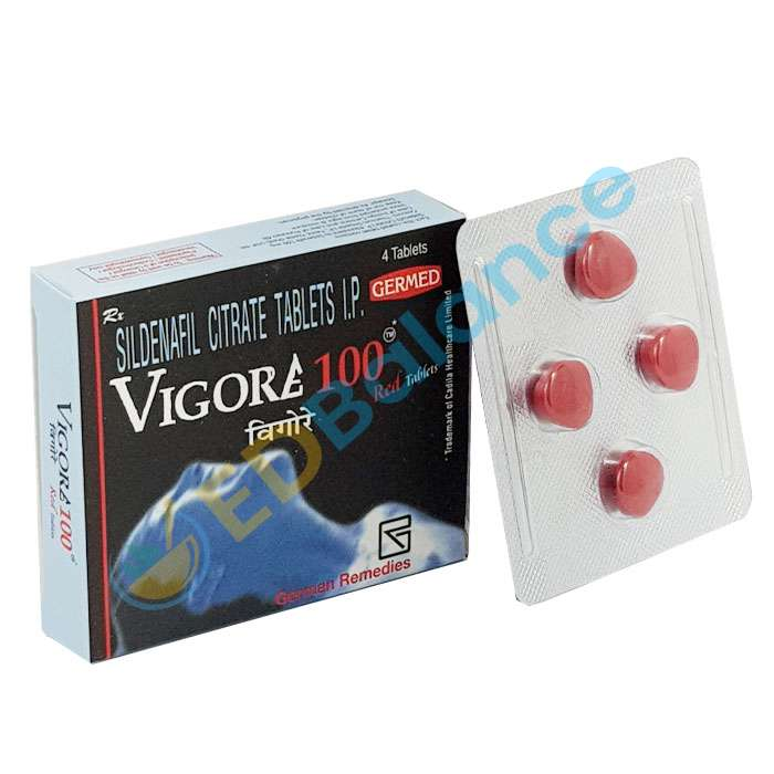 Vigora 100 Red Tablet for male | Buy Vigora Online for Sale UK